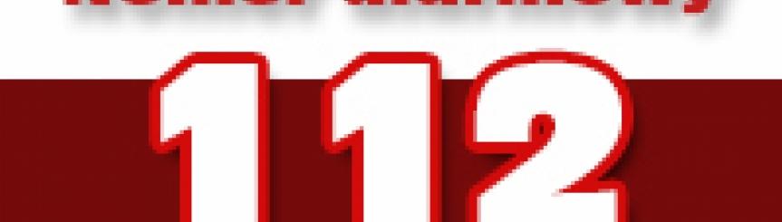 Informacje o numerze alarmowym 112  Kliknięcie w obrazek spowoduje wyświetlenie jego powiększenia