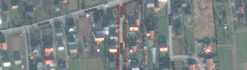 Przetarg na przebudowę drogi - odnogi ulicy Szkolnej Kliknięcie w obrazek spowoduje wyświetlenie jego powiększenia