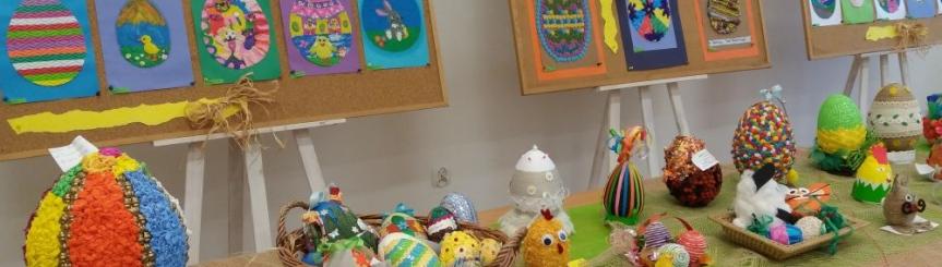 Wielkanocny Konkurs Plastyczny - rozdanie nagród Kliknięcie w obrazek spowoduje wyświetlenie jego powiększenia