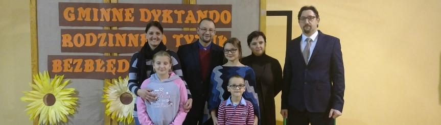XIV Dyktando Rodzinne w Szkole Podstawowej nr 1 w Goczałkowicach-Zdroju Kliknięcie w obrazek spowoduje wyświetlenie jego powiększenia