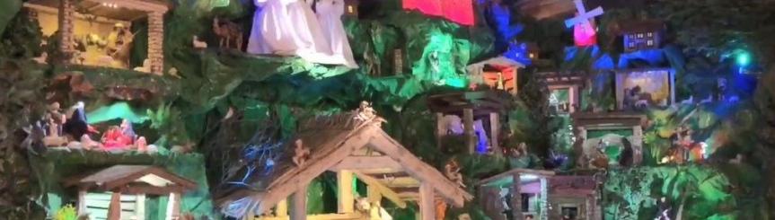 Szopka w kościele parafialnym Kliknięcie w obrazek spowoduje wyświetlenie jego powiększenia