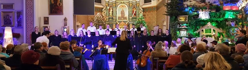 Doroczny koncert kolędowy w Goczałkowicach-Zdroju Kliknięcie w obrazek spowoduje wyświetlenie jego powiększenia