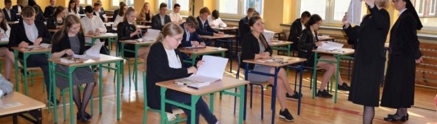 Gimnazjaliści przystąpili do egzaminów Kliknięcie w obrazek spowoduje wyświetlenie jego powiększenia