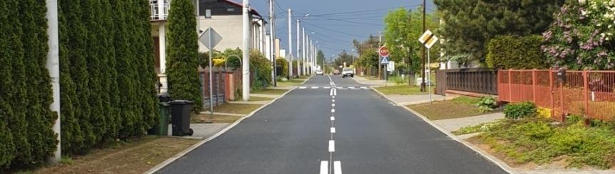 Ulica Wiślna gotowa Kliknięcie w obrazek spowoduje wyświetlenie jego powiększenia