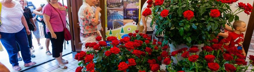 Róże królowały w Goczałkowicach Kliknięcie w obrazek spowoduje wyświetlenie jego powiększenia