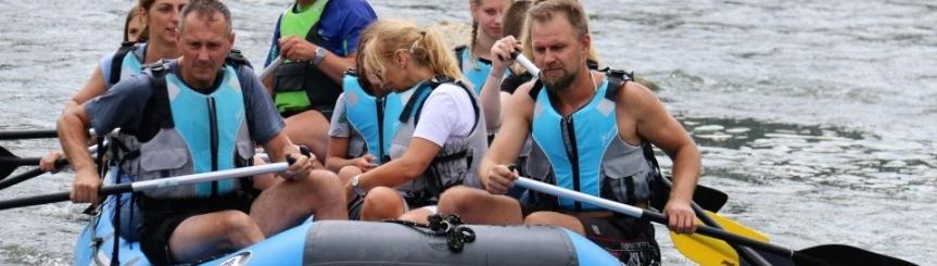 Na pontonie i rowerze przez Przełom Dunajca Kliknięcie w obrazek spowoduje wyświetlenie jego powiększenia