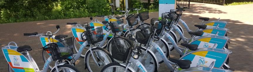 Ponad 9,6 tys. wypożyczeń rowerów Kliknięcie w obrazek spowoduje wyświetlenie jego powiększenia