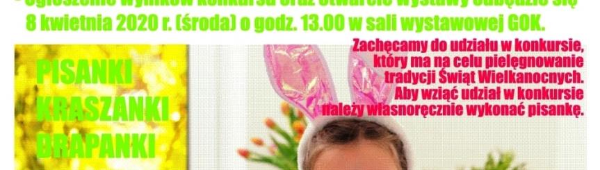 Wielkanocny konkurs plastyczny - ONLINE!!! Kliknięcie w obrazek spowoduje wyświetlenie jego powiększenia