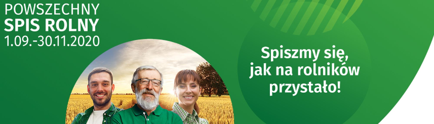 Powszechny Spis Rolny tylko do końca listopada Kliknięcie w obrazek spowoduje wyświetlenie jego powiększenia