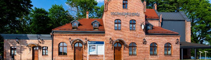 Zdjęcie przedstawia budynek Starego Dworca w Goczałkowicach-Zdroju, fot. G. Kopeć