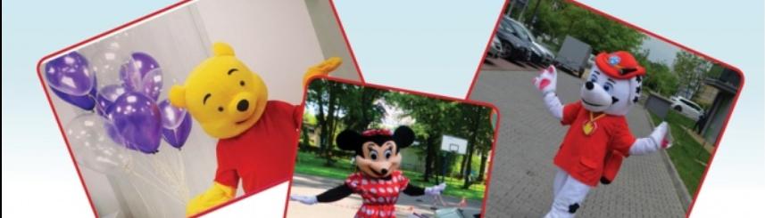Dzień dziecka z żywymi maskotkami Kliknięcie w obrazek spowoduje wyświetlenie jego powiększenia